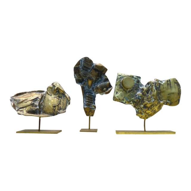 Bronze Sculptures by Cacipore Torres, Brazil 1935 - Set of 3 For Sale