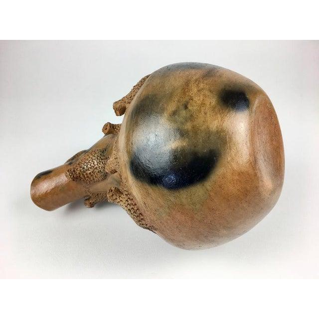 Modern Ceramic Vase By Rita M. For Sale In San Francisco - Image 6 of 13