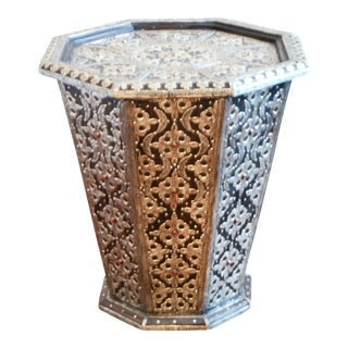 Moroccan Metal Side Table