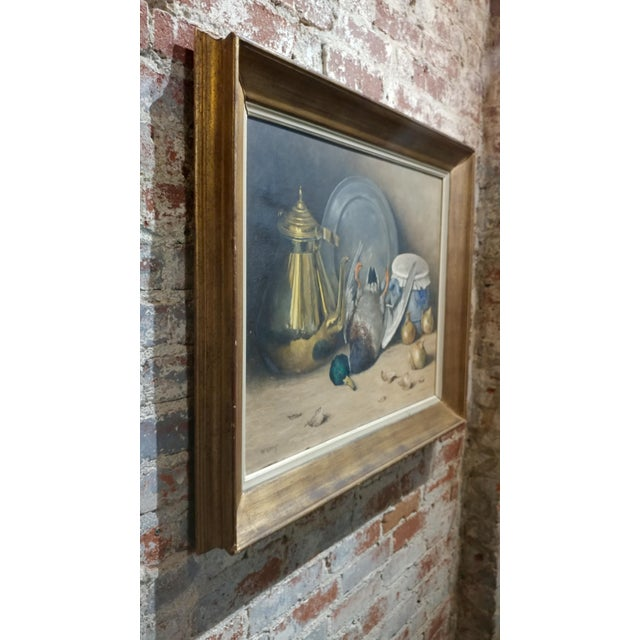 Gray Moeng - Still Life W/Dead Game -19th Century Oil Painting For Sale - Image 8 of 10