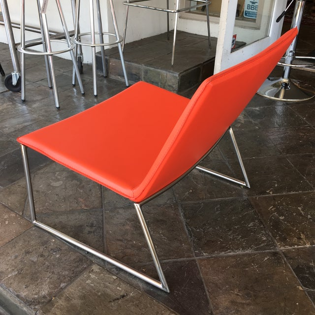 Chalk Chair by CB2 - Image 6 of 8