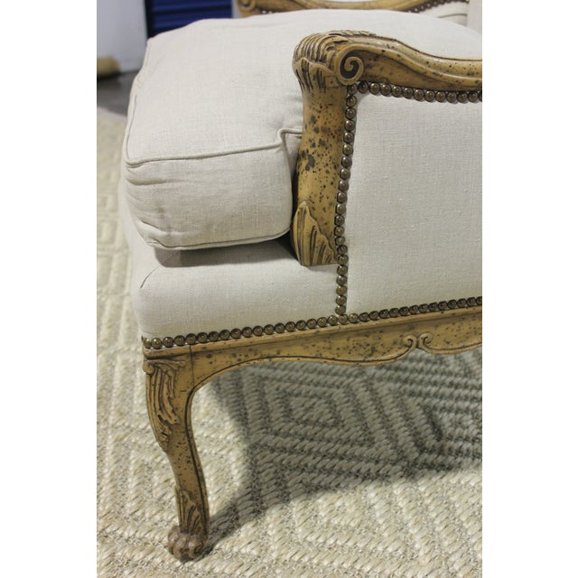Wood Early 20th Century Vintage Yale R. Burge Arm Chair For Sale - Image 7 of 8