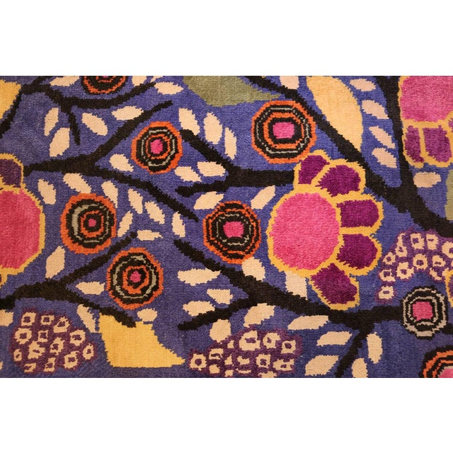 Textile Edouard Benedictus French Deco Rug - 10′10″ × 13′2″ For Sale - Image 7 of 8
