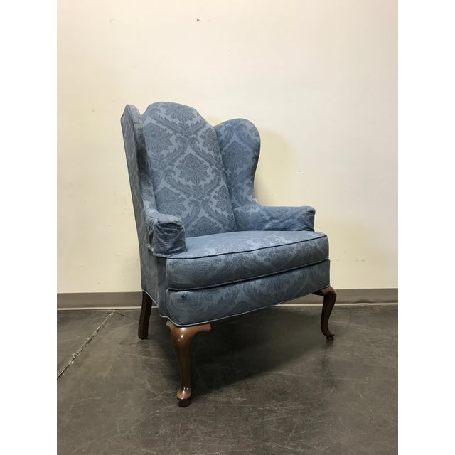 Drexel Classics Queen Anne Wingback Wing Chair - Image 2 of 10