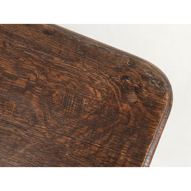 Wood French Louis XV Style Ladies Writing Desk For Sale - Image 7 of 11