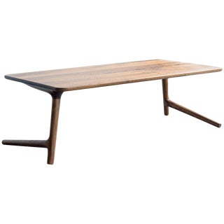 Walnut Accent Coffee Table For Sale
