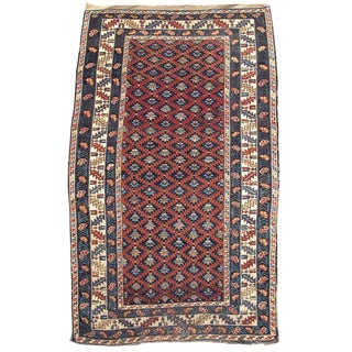 19th Century Caucasian Kuba Rug For Sale