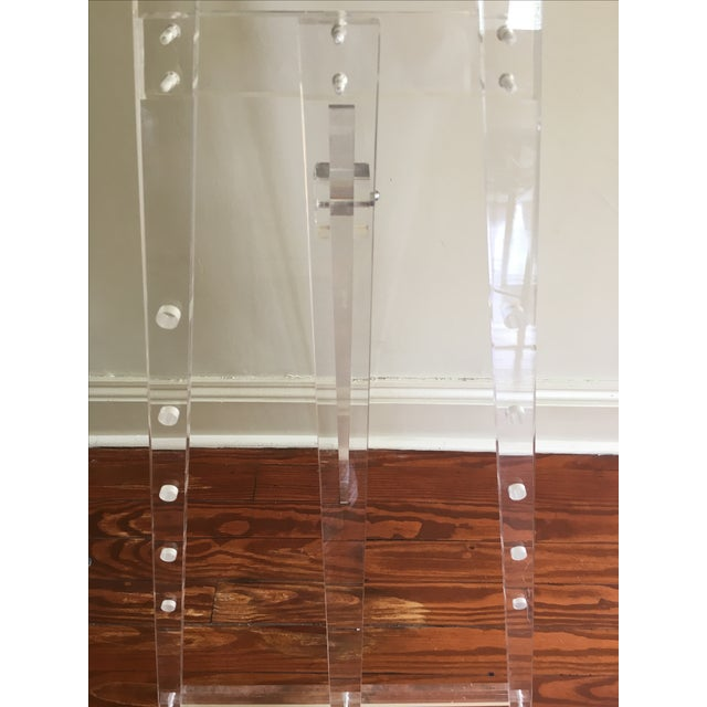 Vintage Acrylic Easel For Sale - Image 4 of 4