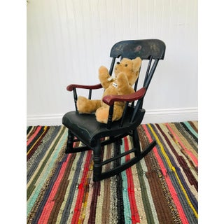 Antique Child's Rocking Chair Preview