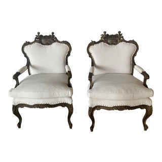 1960s Vintage Italian Chairs- A Pair For Sale