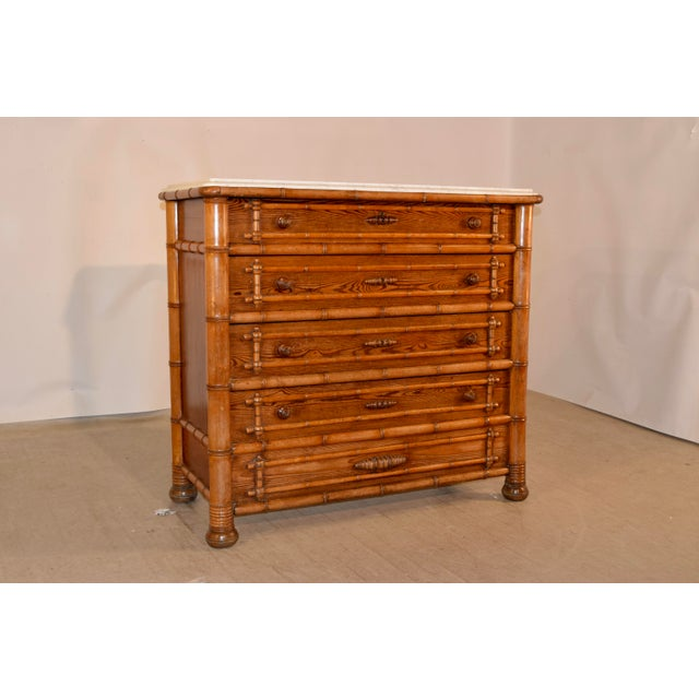 19th C. French Chest of Drawers For Sale - Image 11 of 11