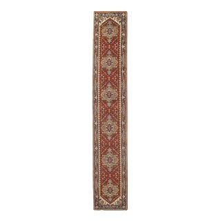 Pasargad Hand-Knotted Serapi Runner Rug - 2′6″ × 16′ For Sale