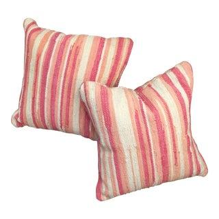 John Robshaw Rug Pillows - A Pair