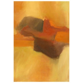 Abstract Earth Tone Acrylic on Canvas by McClatchey For Sale