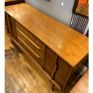 Mid Century Modern 9 Drawer Lowboy Dresser Preview