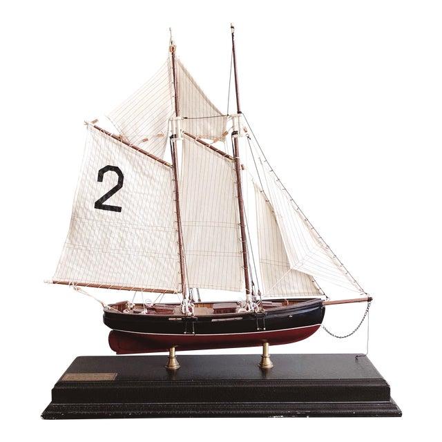 """Vintage New York Pilot Boat """"Phantom"""" 1868 Model For Sale"""