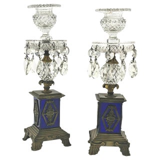 Pair of Regency Candlesticks For Sale