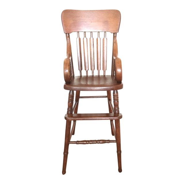 Antique Bentwood Child's High Chair - Image 1 of 7