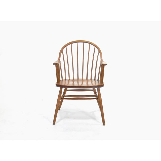 Claud Bunyard for Nichols & Stone Continuous Bow Back Windsor Chair - Image 3 of 6