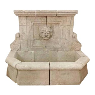 Bacchus Wall Fountain For Sale