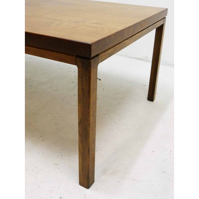 Milo Baughman-Attributed Parsons Dining Table - Image 6 of 9
