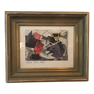 Abstract Mixed Media Painting by Cathal O'Toole For Sale
