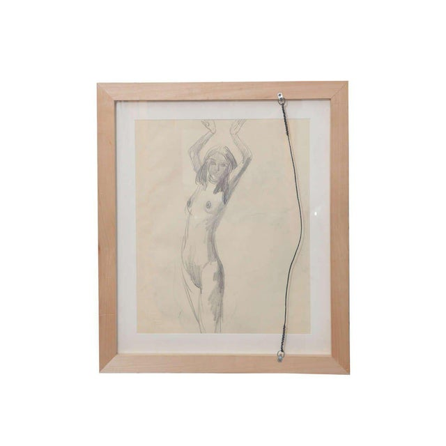 Sir Jacob Epstein Sir Jacob Epstein Pencil Drawings For Sale - Image 4 of 5