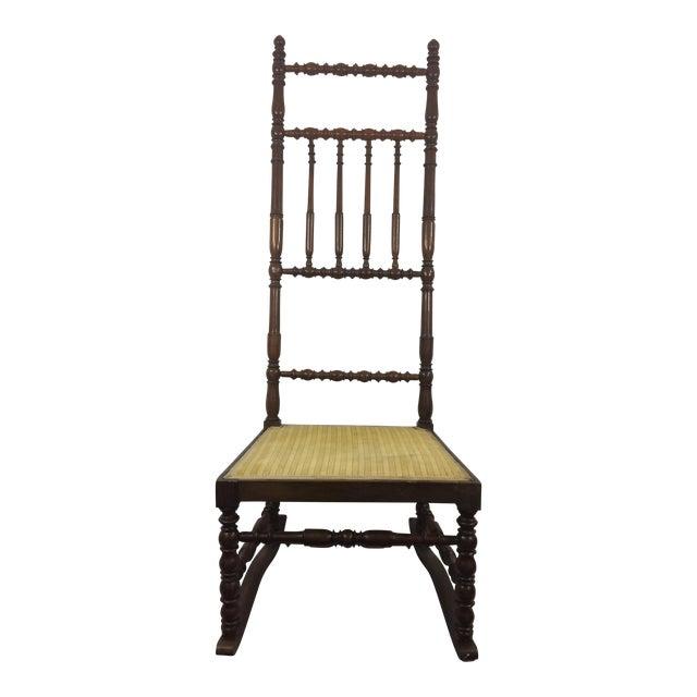 Napoleon III High Back Spindle Chair - Image 1 of 8