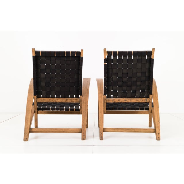 "Pair of Carl Koch ""Sno-Shu"" Lounge Chairs For Sale - Image 5 of 9"