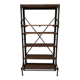 French Restoration Hardware Library Bookcase For Sale