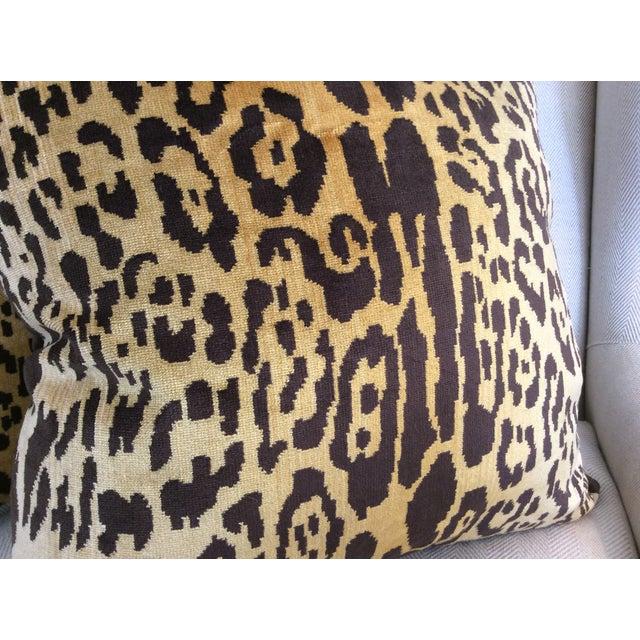 Scalamandre Leopardo Down Pillows - a Pair - Image 3 of 4