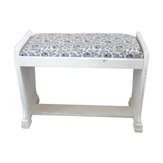 Refreshed Art Deco Bench