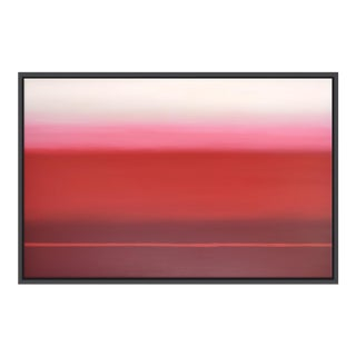 Abstract Red Ombré - Framed Print 32x48 For Sale
