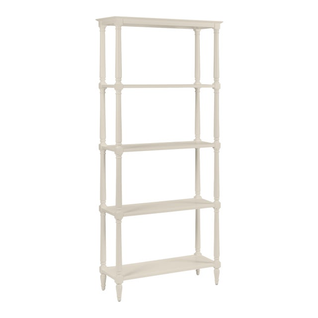 Walker Etagere, Revere Pewter For Sale