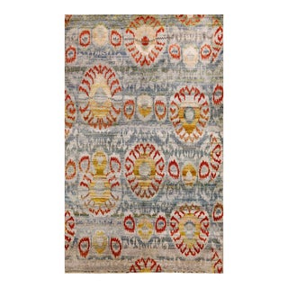 "Sari Silk Indore Rug - 6' X 9'8"" For Sale"