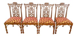 Image of Gold Dining Chairs