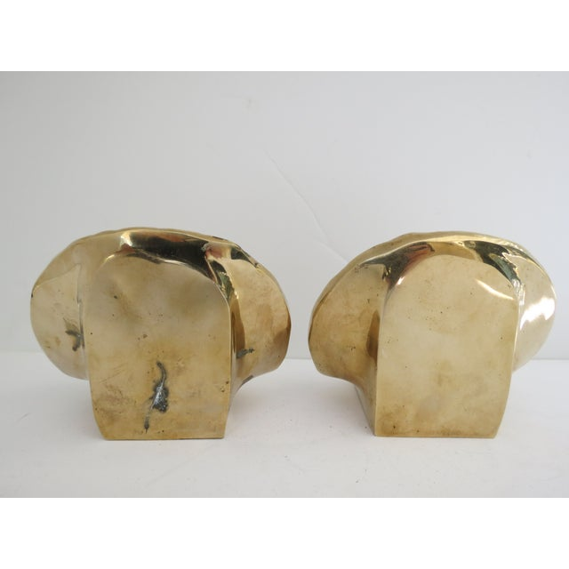 Brass Shell Bookends - Image 5 of 7