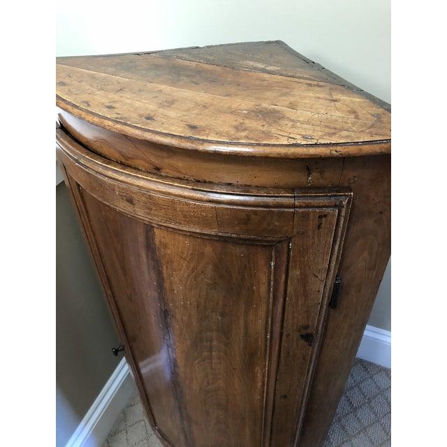 Antique Corner Cabinet - Image 5 of 9 - Antique Corner Cabinet Chairish