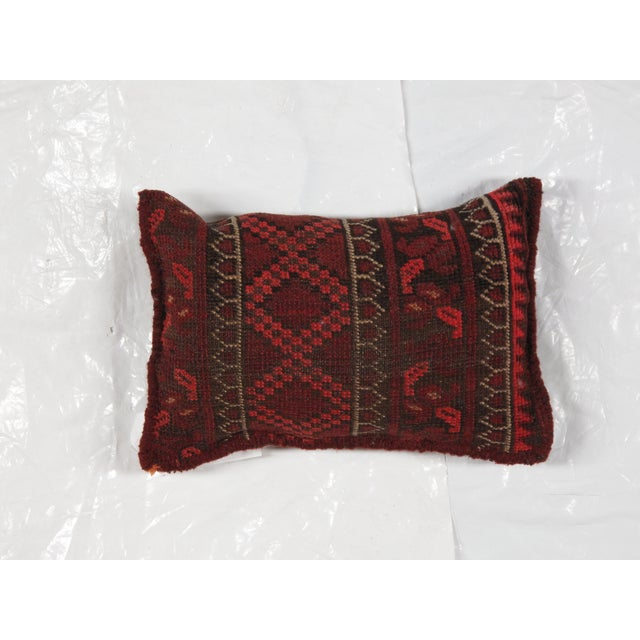 Baluch Rug Fragment Pillow - Image 2 of 3