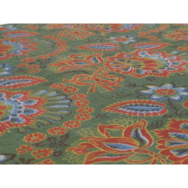 Antique Russian Fabric Panel For Sale - Image 4 of 7