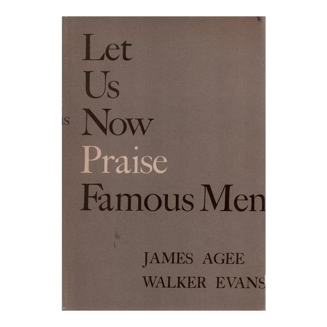 "1960 ""Let Us Now Praise Famous Men"" Collectible Book For Sale"