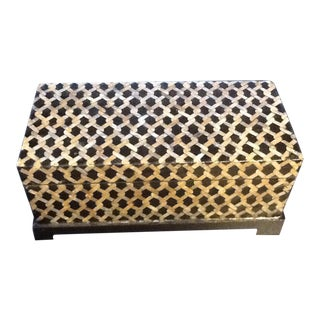 Decorative Table Top Chest For Sale
