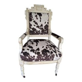 Eastlake Style Armchair For Sale