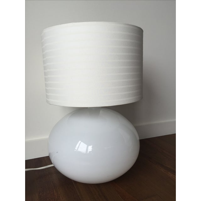 Modern White Lamp - Image 4 of 5