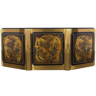"Bernhard Rohne ""Tree of Life"" Sideboard for Mastercraft For Sale"