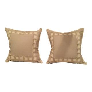 Custom Alpaca Pillows - A Pair