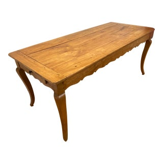 Antique Louis XV Fruitwood Dining Table For Sale