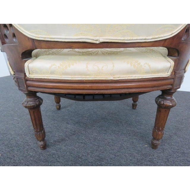 Louis XVI Style Settee For Sale - Image 5 of 9