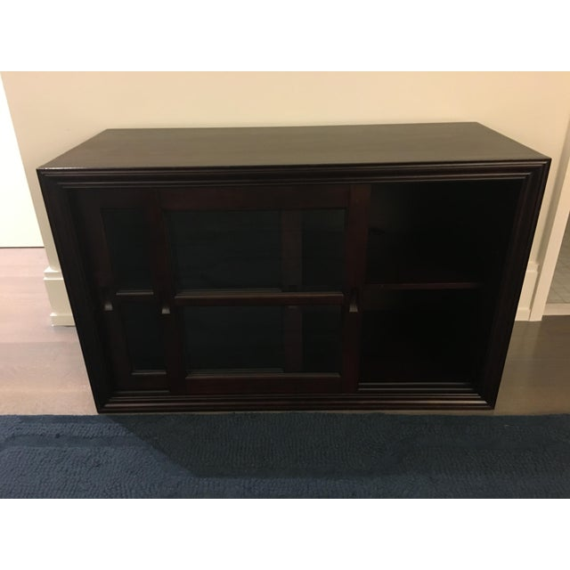 Pottery Barn Wooden 2-Door Cabinet With TV Stand - Image 6 of 6