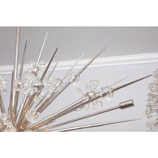 2010s Custom Austrian Crystal Spiked Sputnik For Sale - Image 5 of 10